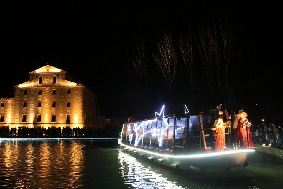 Rioseco recibe mañana a los Reyes Magos en la Dársena del Canal