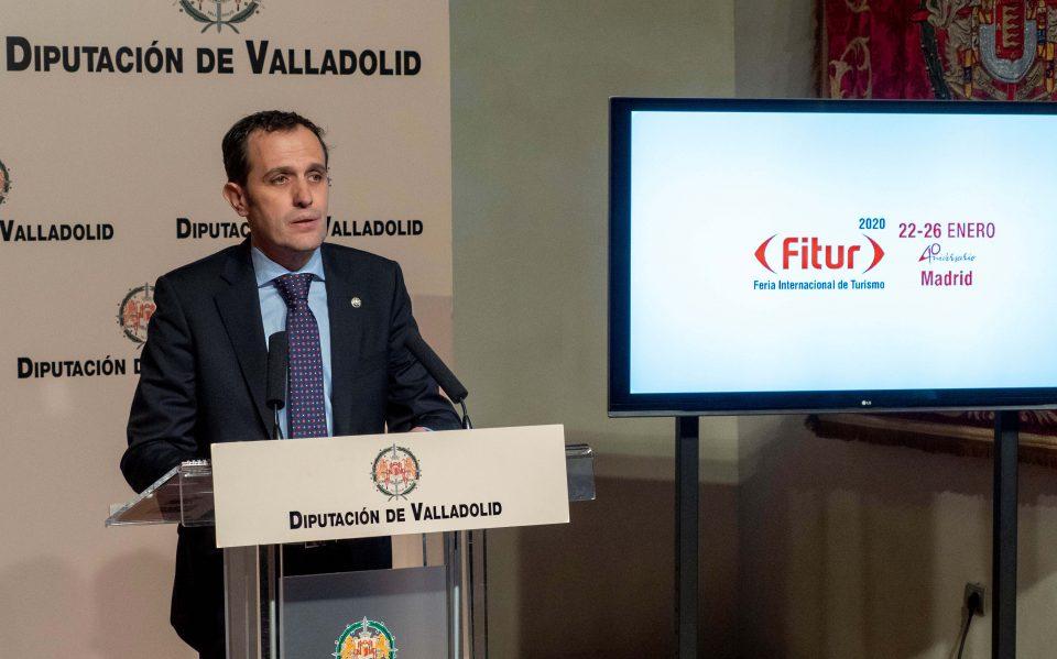 El Centenario de Miguel Delibes y las Rutas de los Castillos protagoniza las propuestas de la Diputación de Valladolid en FITUR 2020