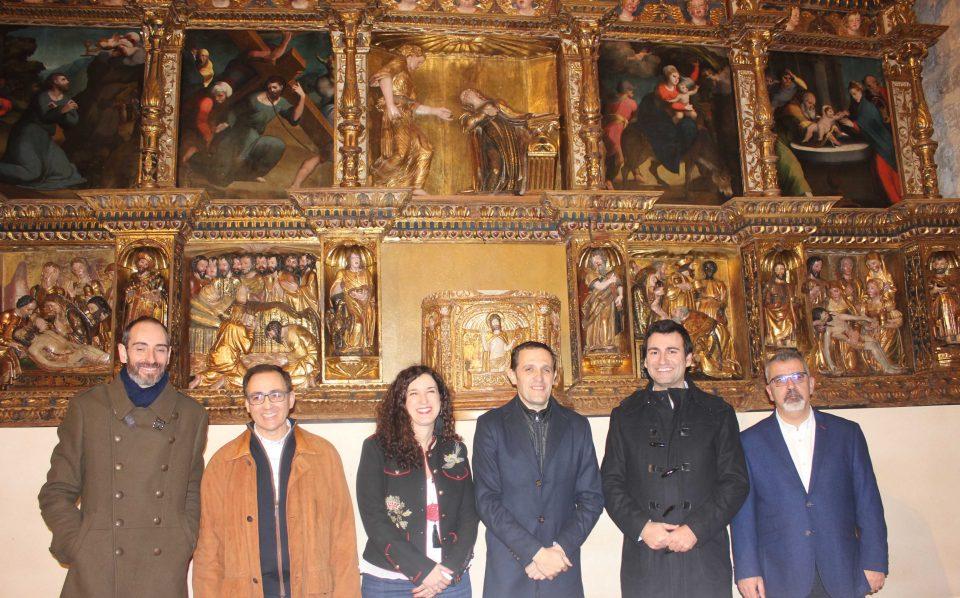 El retablo de Santa María La Sagrada de Tordehumos vuelve a lucir en su máximo esplendor