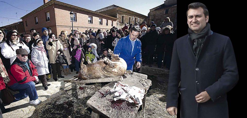 David Esteban será el pregonero de la Matanza del cerdo de Palazuelo de Vedija