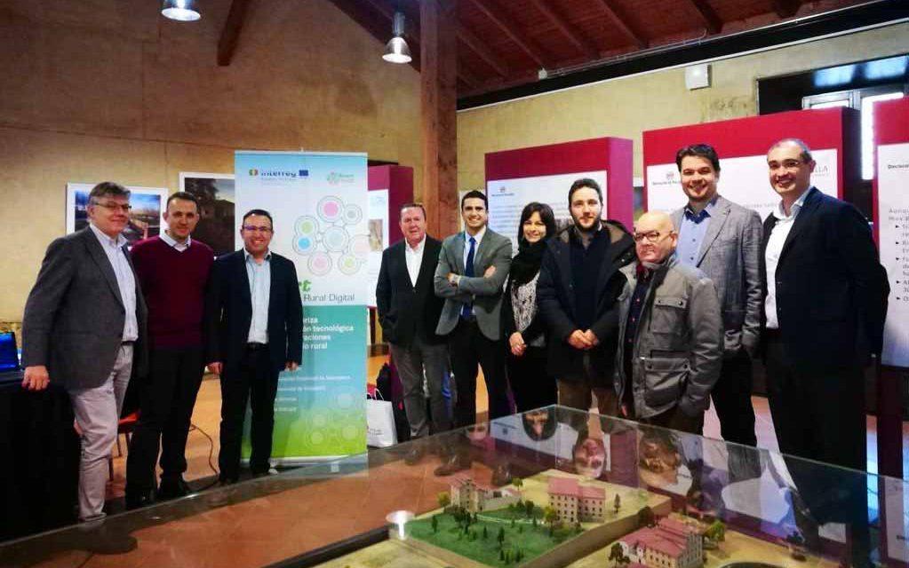 El Centro de Recepción del Canal de Castilla acoge la reunión de inicio del nuevo proyecto Smart Rural CDR 2020-2021