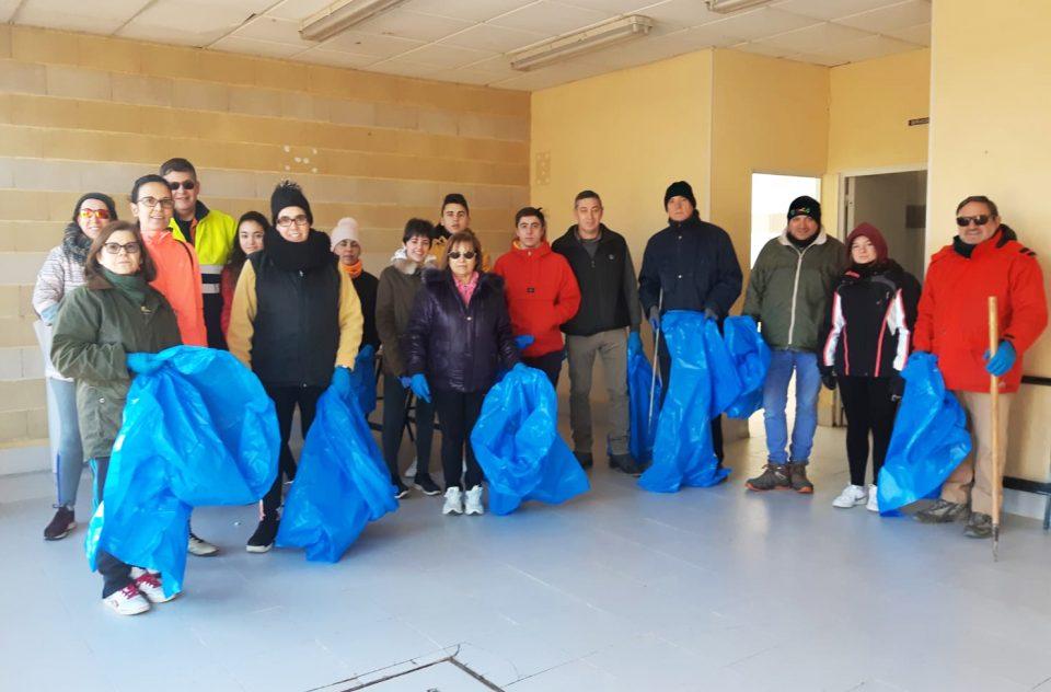 Villabrágima: brigada contra los residuos