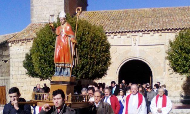 Todo listo para las fiestas de San Blas de Villagarcía de Campos