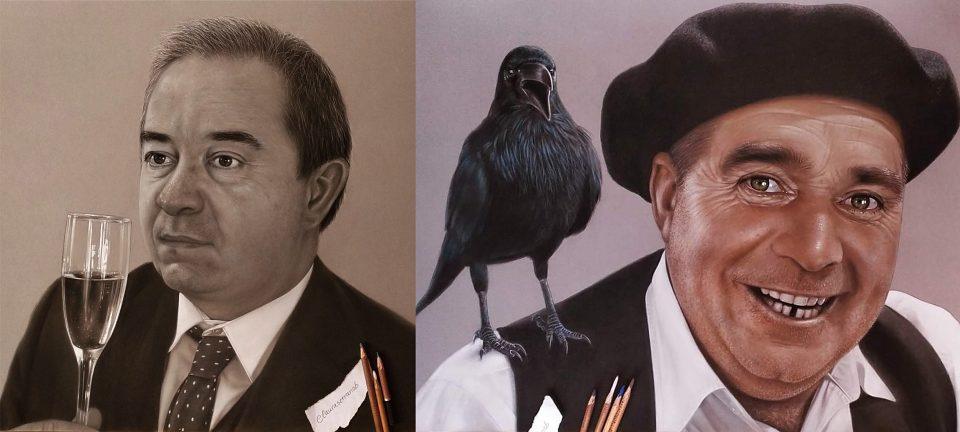Vecinos de Urueña se convierten en personajes de Delibes a través de la pintura