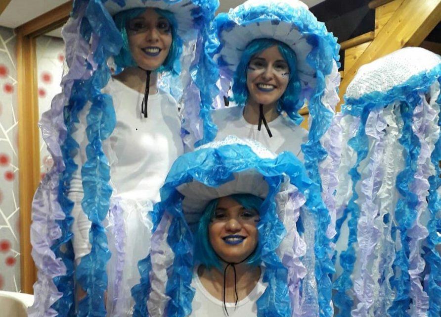 'Las Medusas', primer premio en el Concurso de Carnaval de Villabrágima