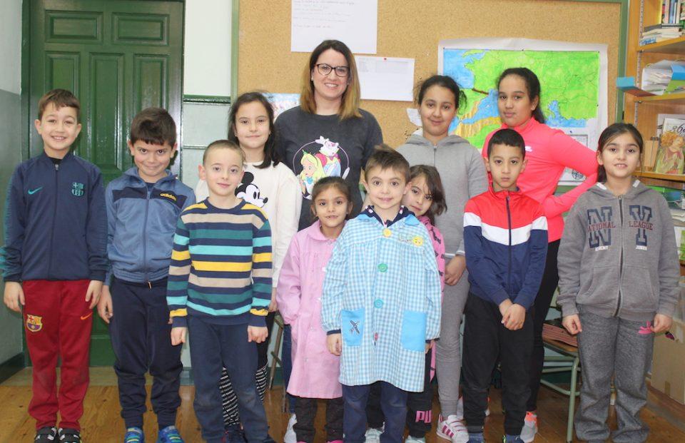 Escolares de Villarechós se convierten en 'mini médicos' a través de un taller de primeros auxilios