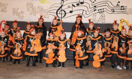 Villafrechós acoge un Carnaval en clave musical