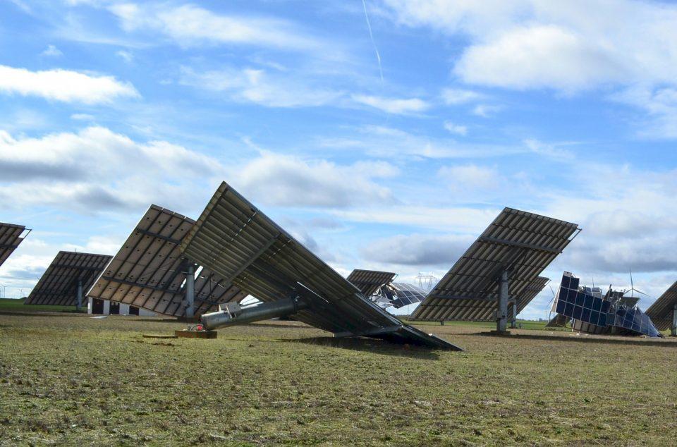 Las consecuencias de 'Gloria' en un parque solar de La Mudarra, a punto de terminar de ser evaluadas