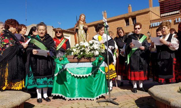Las mujeres de Villalpando celebran la fiesta de Santa Águeda
