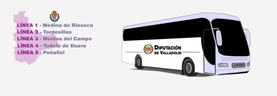 Vuelve la ruta que conecta Medina de Rioseco con el Real Valladolid