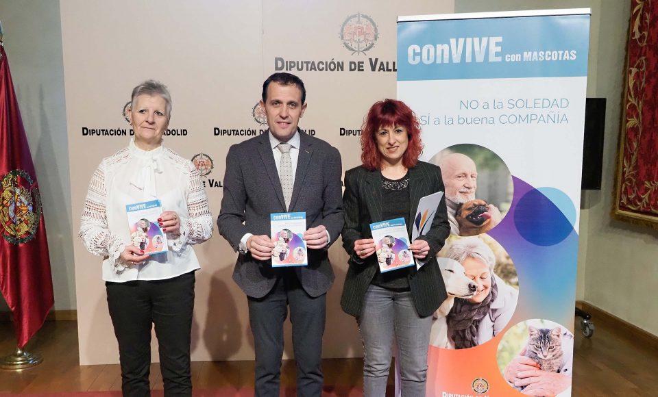 El proyecto 'conVIVE con MASCOTAS' buscará combatir la soledad de las personas mayores del mundo rural