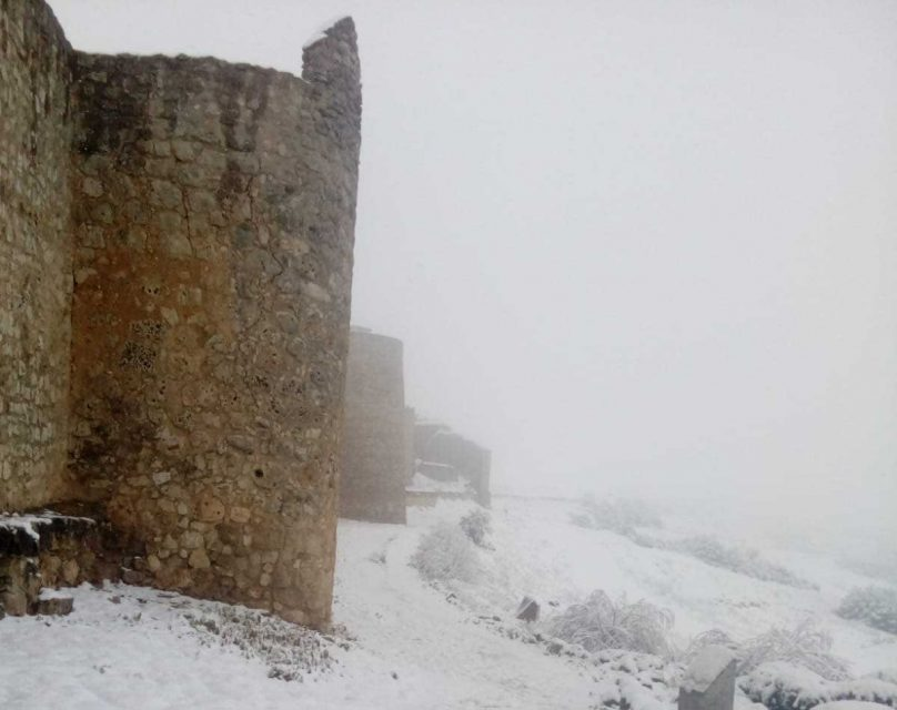 La nieve llega a Campos y Torozos
