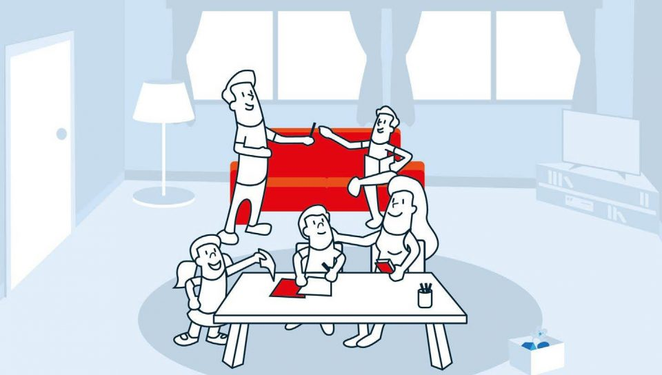 Cruz Roja lanza una guía para ayudar a las familias en tiempos de confinamiento