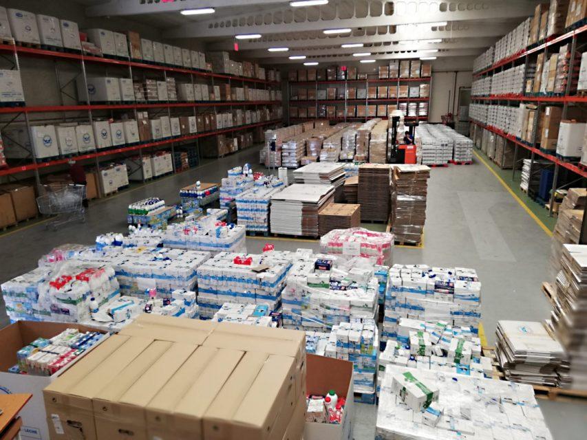 La Diputación hará llegar ayuda de emergencia al Banco de Alimentos con productos de la Marca Alimentos de Valladolid