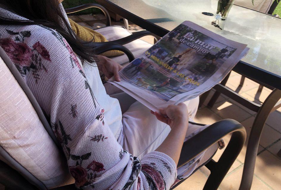 La OMS recuerda que los periódicos no transmiten el coronavirus