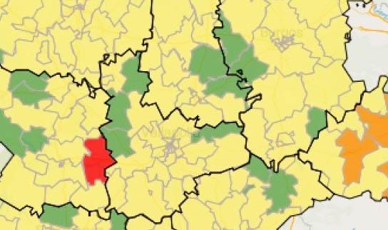 Villafrechós y Mota del Marqués se suman a las zonas sin contagios en siete días