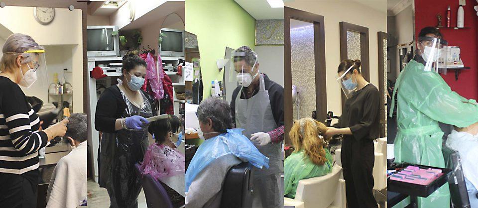 Las peluquerías riosecanas levantan la persiana con las citas llenas para varios días