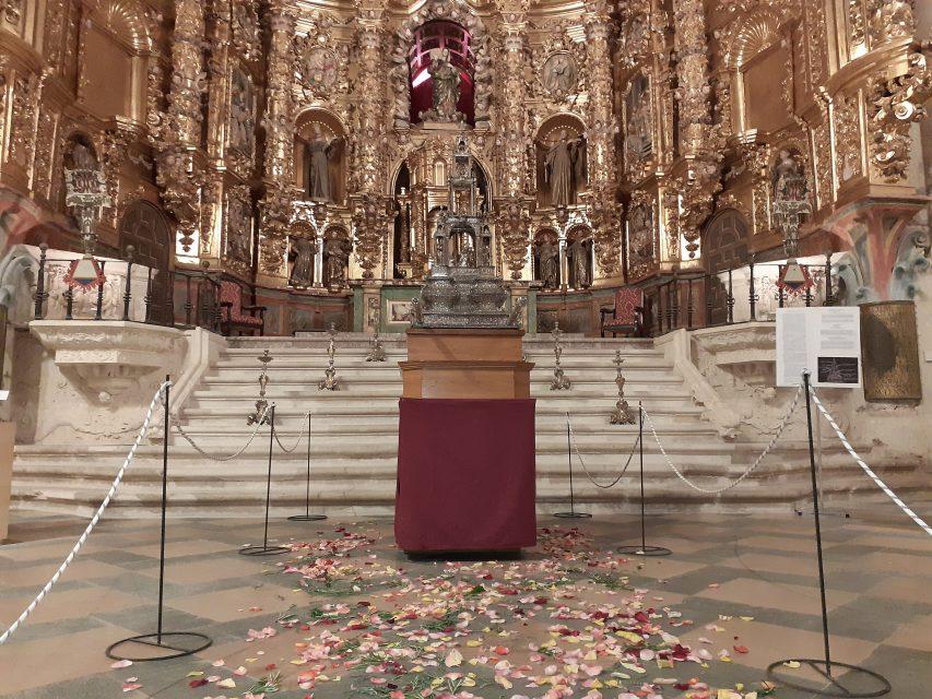 El Museo de San Francisco expone la custodia de Antonio de Arfe de 1554 como pieza de la semana para celebrar el Corpus Christi
