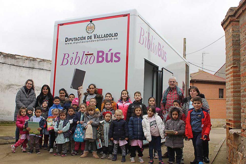 Los Bibliobuses de la Diputación reanudan su actividad desde el próximo lunes