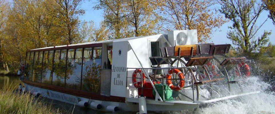 El barco Antonio Ulloa reanuda sus viajes el 19 de junio