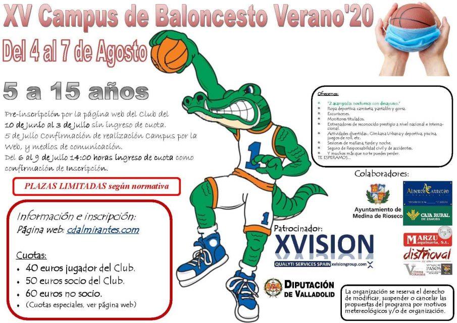 El CD Almirantes anuncia la celebración de su campus de verano