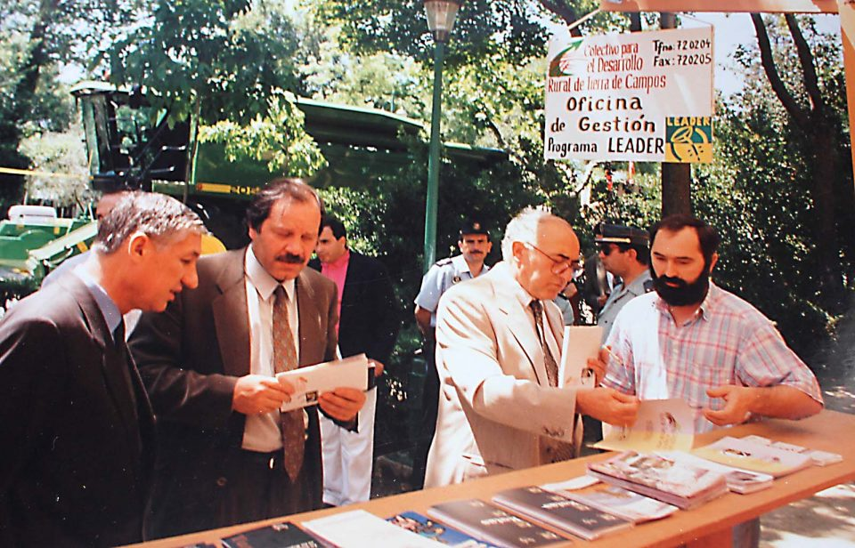 Fallece Eduardo Franco, alcalde de Rioseco entre 1983 y 1999