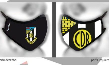El C.D. Rioseco pondrá a la venta mascarillas con la imagen de su escudo