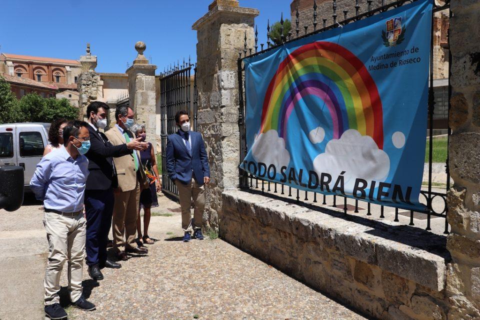 Bélgica dona 10.000 euros a la Residencia Sancti Spiritus y Santa Ana de Medina de Rioseco