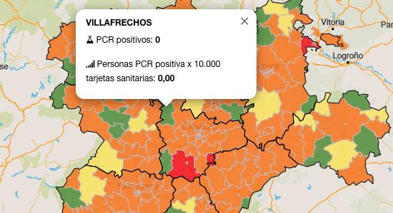 La ZBS de Villafrechós, zona libre de contagio junto a otras 23 en Castilla y León