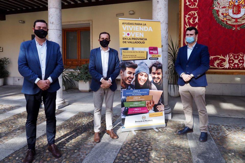 La Diputación de Valladolid destina más de 1 millón de euros a facilitar el acceso a la vivienda en el medio rural