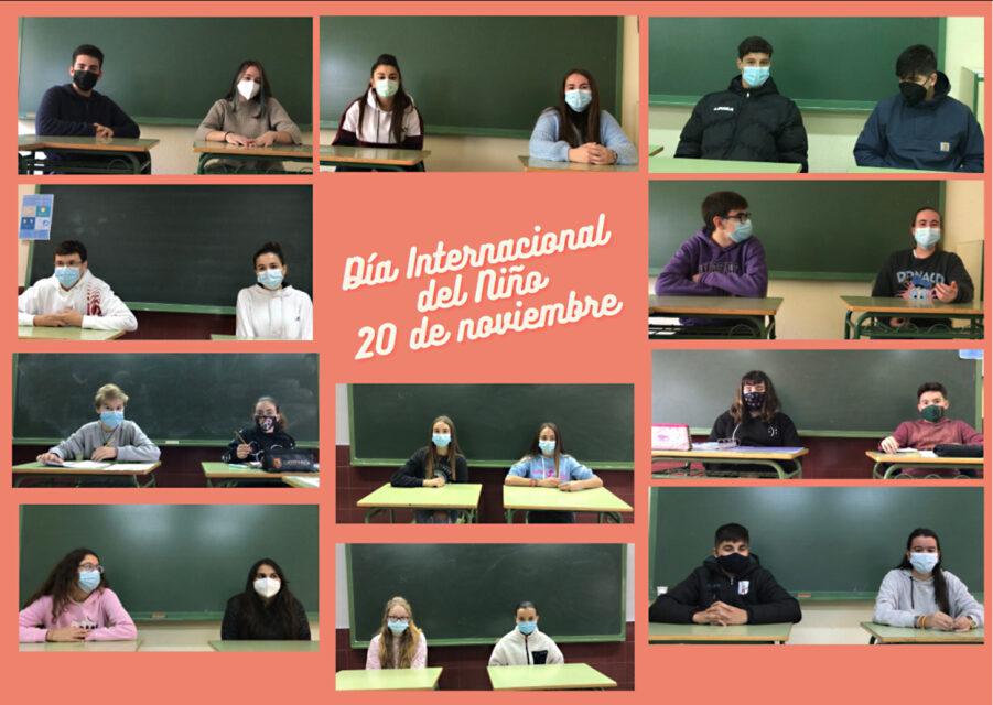 El IES Tierra de Campos celebra el día Universal del Niño