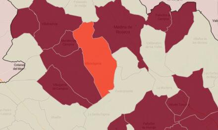 Estos son los pueblos de la comarca en riesgo 'muy alto' por la incidencia del coronavirus