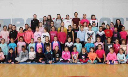 La gimnasia rítmica de los Juegos Escolares de la Diputación arrancará en modalidad online