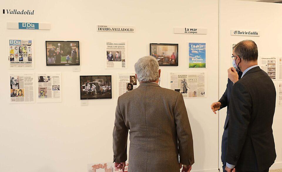 LA MAR DE CAMPOS participa en la exposición 'Prensa escrita de Castilla y León en tiempos de la COVID- 19'