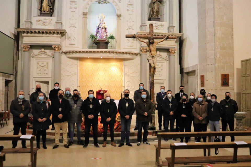 La Junta de Semana Santa de Rioseco celebra una misa por todos los hermanos fallecidos en 2020