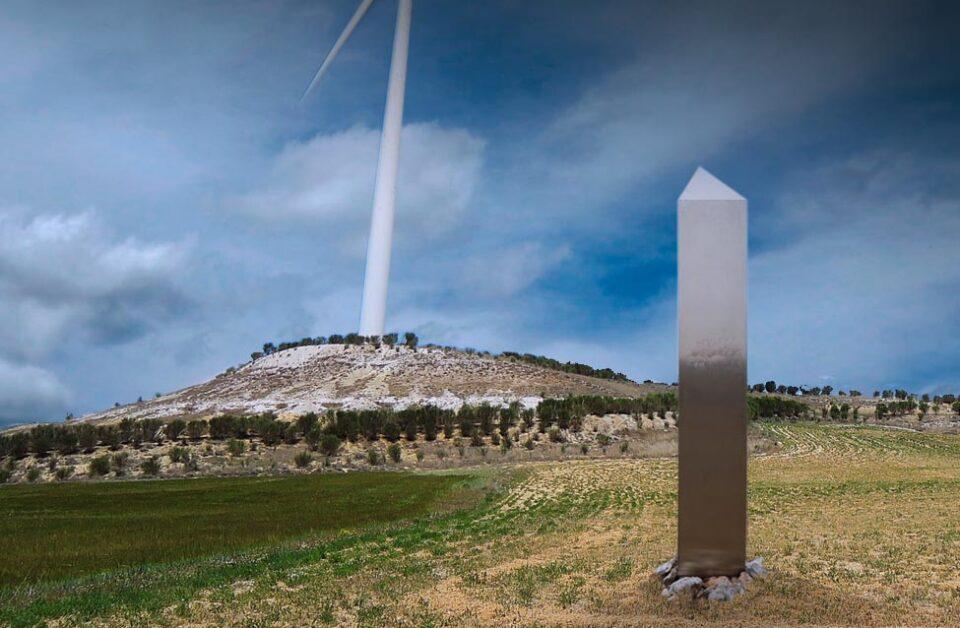 Un misterioso monolito metálico como el del desierto de Utah aparece en Tierra de Campos