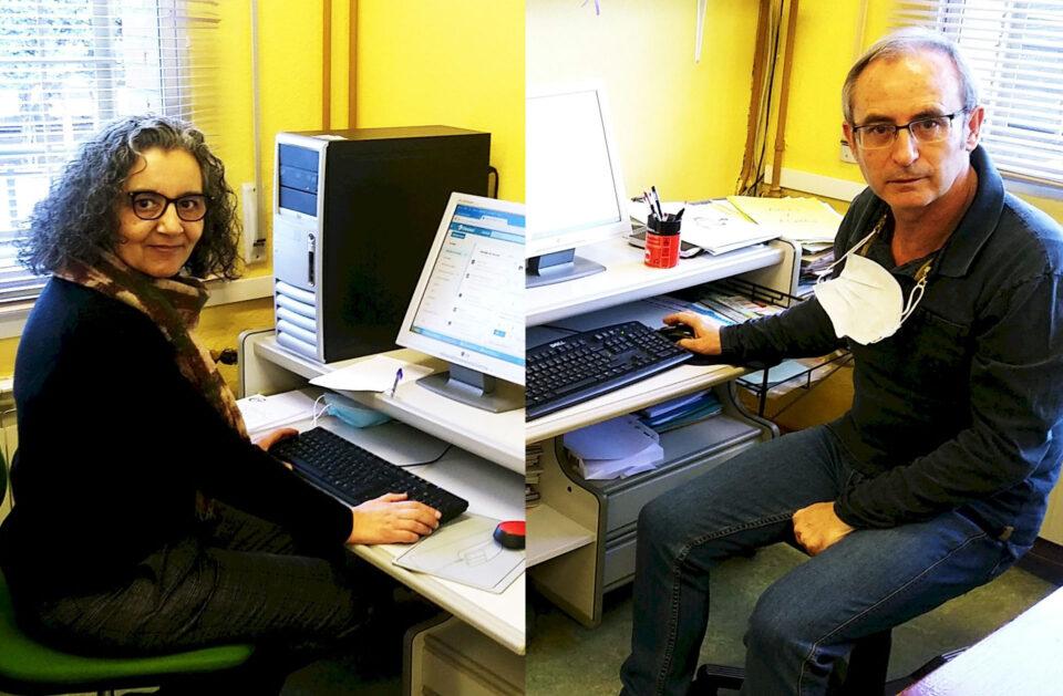 Emotiva despedida en el IES Campos y Torozos de Juan Carlos Sánchez y Celia Carpintero, que alcanzan su jubilación