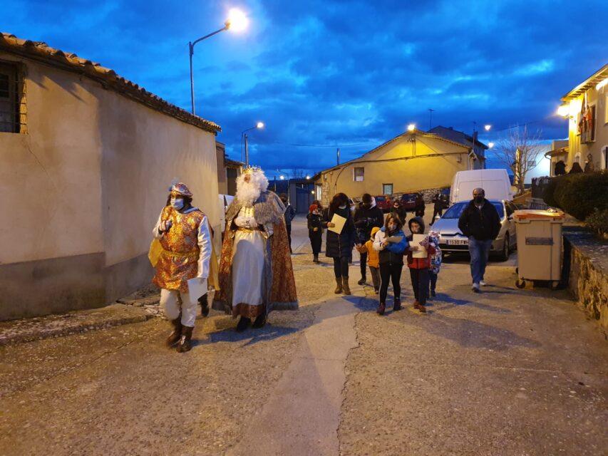 El Rey Melchor más solidario visita San Pelayo