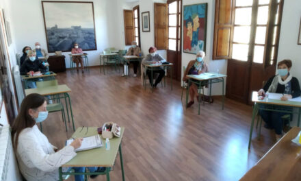 Las clases presenciales del Aula de Cultura de Montealegre se suspenden por la alta incidencia de contagios