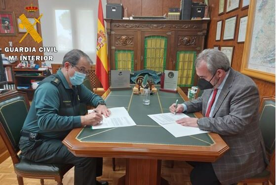 La Guardia Civil firma un Convenio con el Colegio de Farmacéuticos de Valladolid para dar más seguridad a las personas mayores