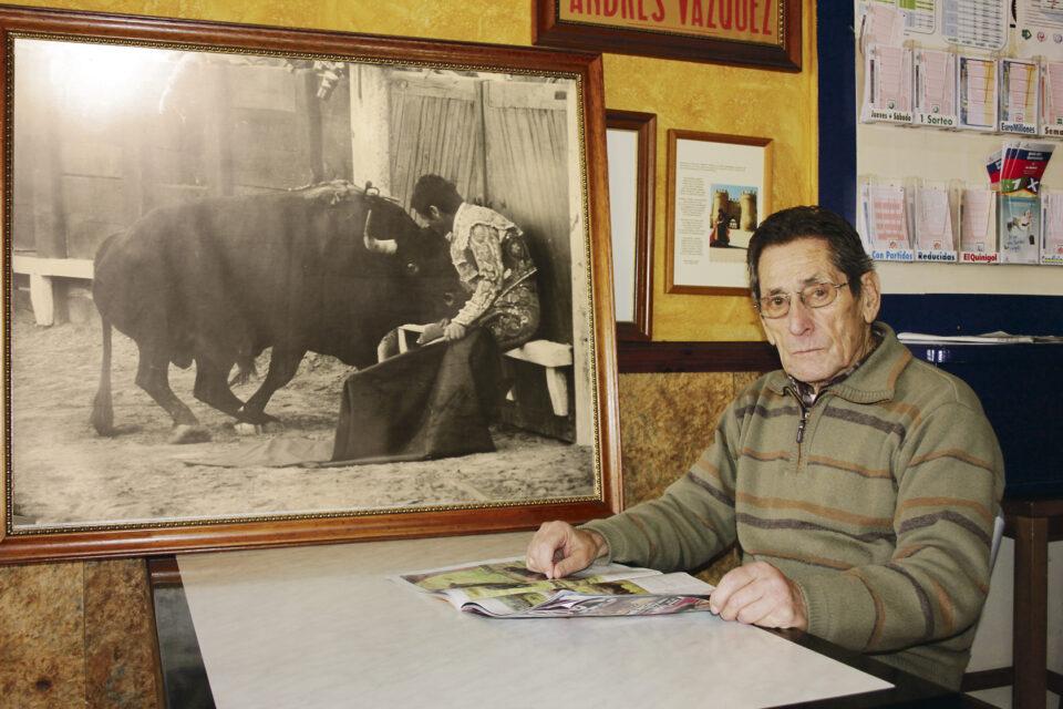 El torero villalpandino Andrés Vázquez, Premio de Tauromaquia de Castilla y León 2020