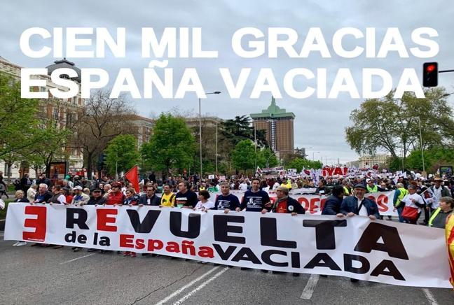 Mañana se celebra el segundo Aniversario de la Revuelta de la España Vaciada