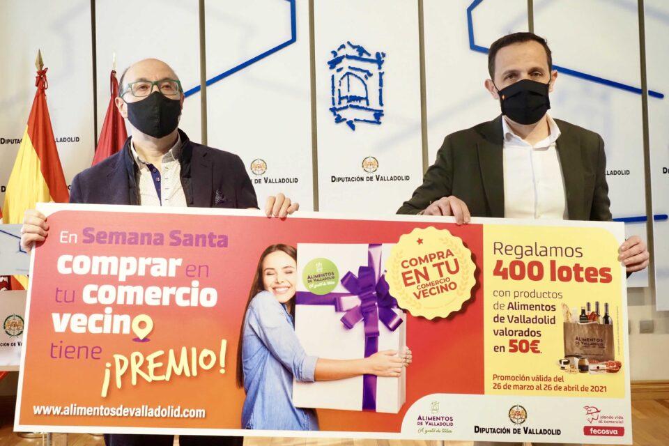 La campaña 'Esta Semana Santa compra en tu comercio vecino' buscará fomentar el consumo, captar y fidelizar clientes, y promover la marca Alimentos de Valladolid