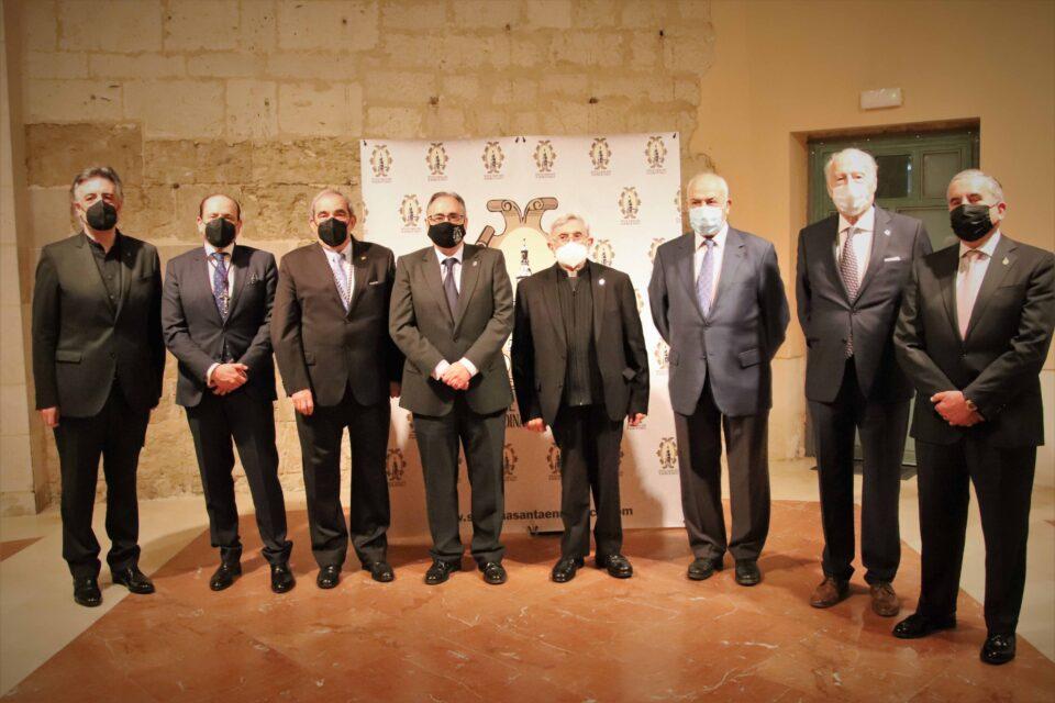 Rioseco recorre la historia de sus pregones de Semana Santa en un emotivo homenaje