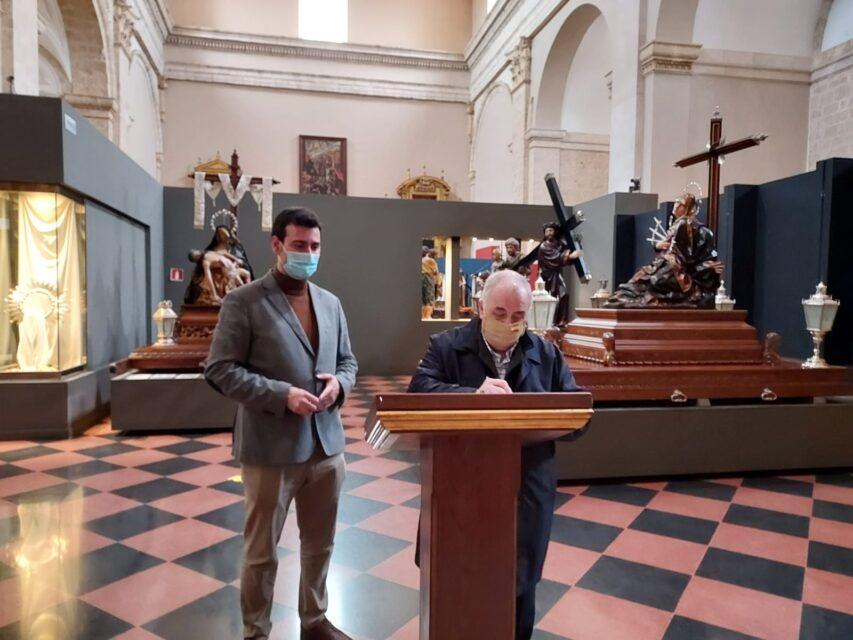 El Ayuntamiento de Rioseco suscribe el convenio anual con Protemplos para la apertura del Museo de Semana Santa