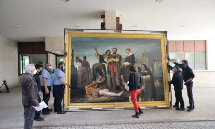 'Los comuneros en el patíbulo' llega a las Cortes para la exposición 'Comuneros. 500 años'