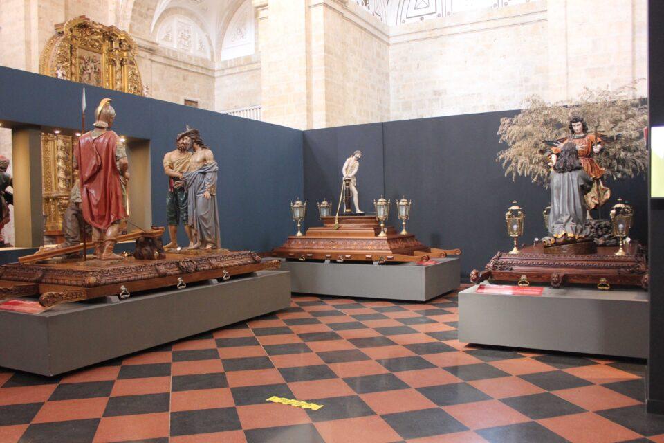 El Museo de Semana Santa de Rioseco recibe 4.500 visitas durante los días de Pasión
