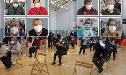 Los pueblos responden a la llamada a vacunarse en Rioseco con más ganas que miedo