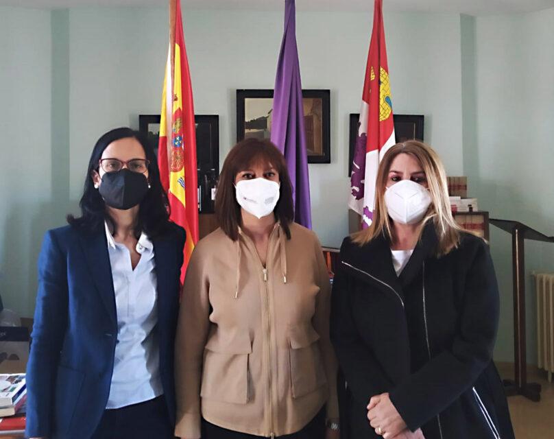 La diputada de Cultura y Turismo visita Villabrágima con motivo del V Centenario del Movimiento Comunero