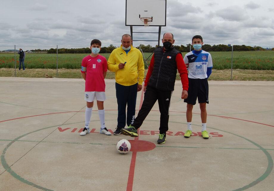 Villardefrades acoge su primer Torneo Infantil Regional de Fútbol Sala